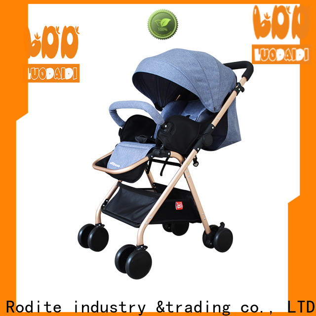 Rodite baby stroller luxury supplier for toddler
