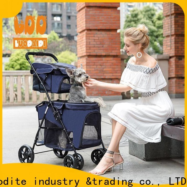 Rodite foldable pet gear dog stroller supplier for cats