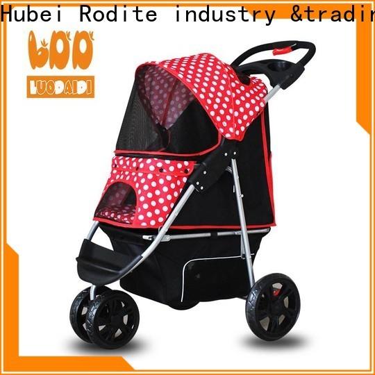 lightweight dog stroller 3 wheel supplier for cats