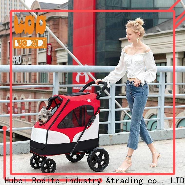 Rodite lightweight pet strollers for small dogs wholesale for travel