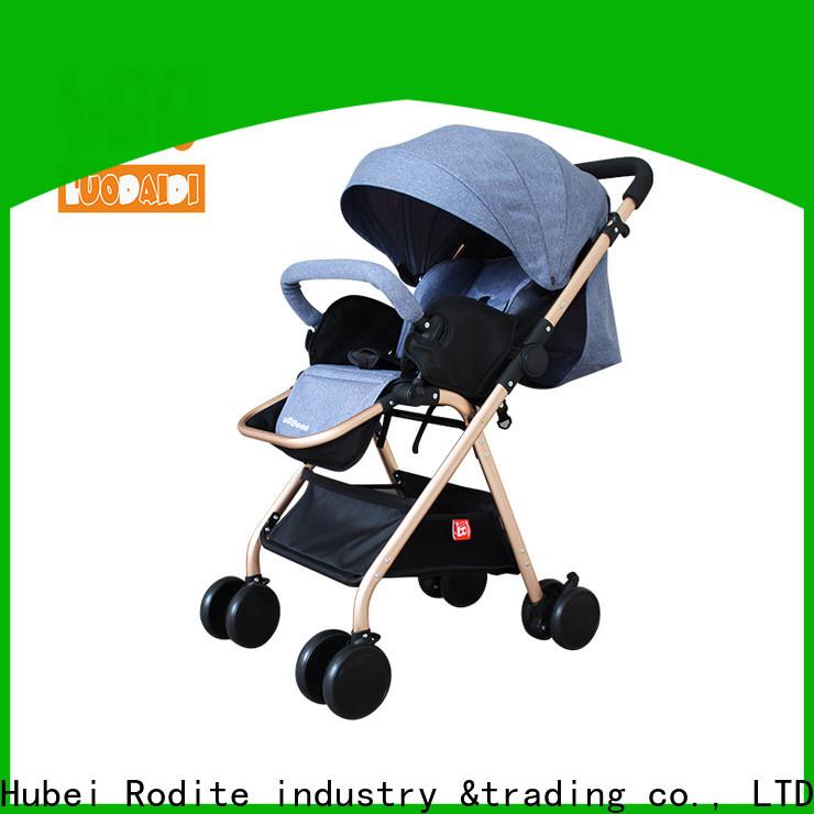 Rodite folding baby pram low price for baby girl