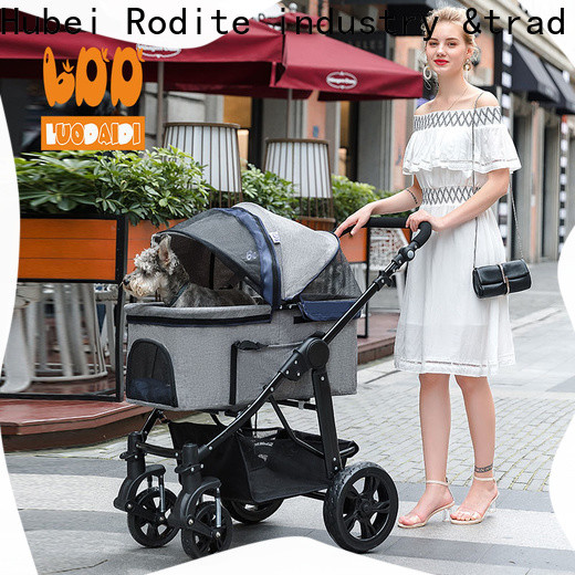 Rodite customized pet stroller for large dogs wholesale for shopping