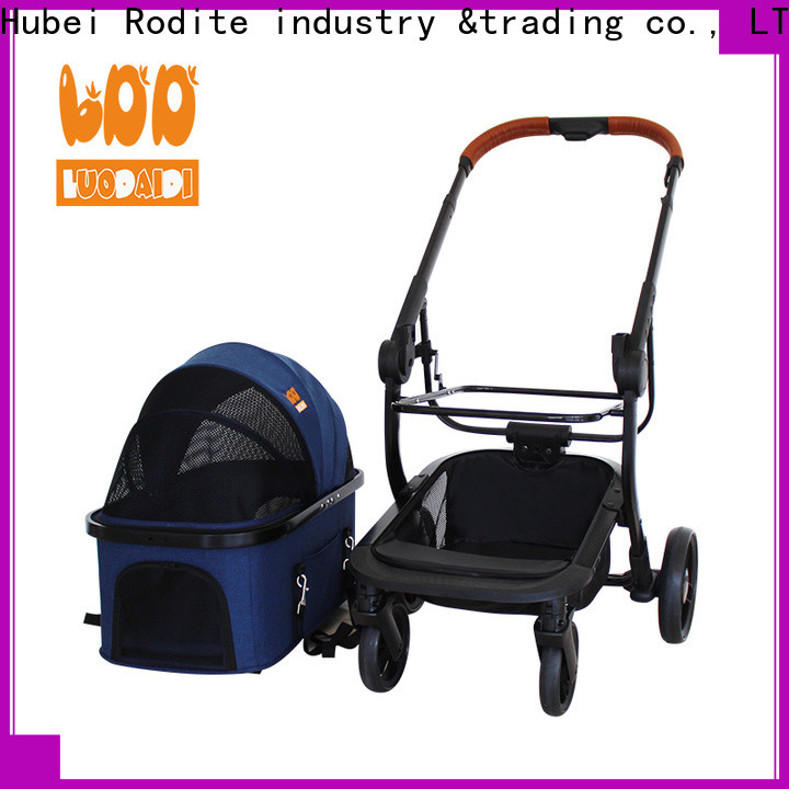 lightweight pet stroller for small dogs supplier for large dogs