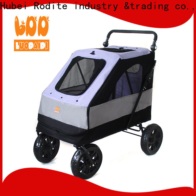 Rodite pet stroller for large dogs low price for medium dogs