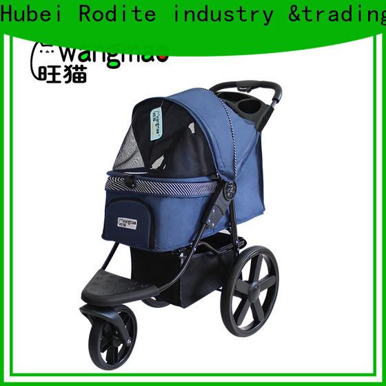 Rodite pet pram stroller supplier for small dogs