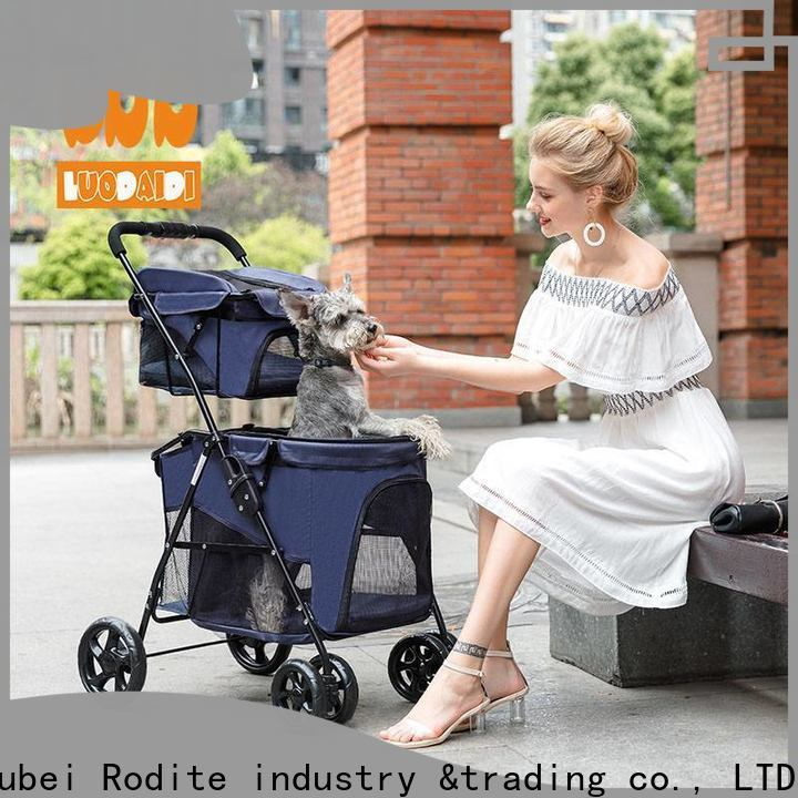 folding cat stroller low price for travel