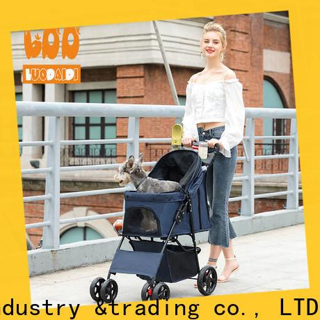 detachaable pet pram stroller manufacturer for small dogs