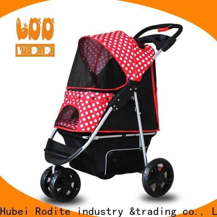 Rodite lightweight dog stroller jogger supplier for cats