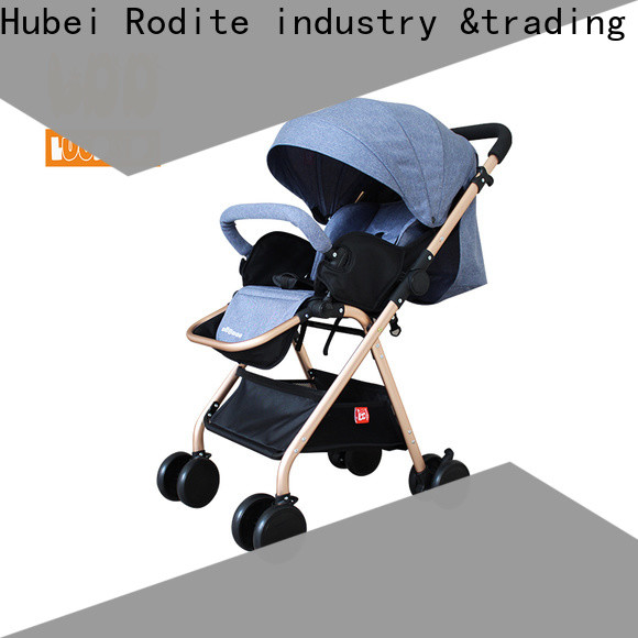 Rodite stainless luxury baby stroller supplier for shopping