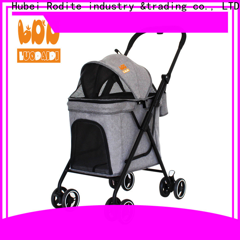 stainless pet strollers for dogs low price for large dogs