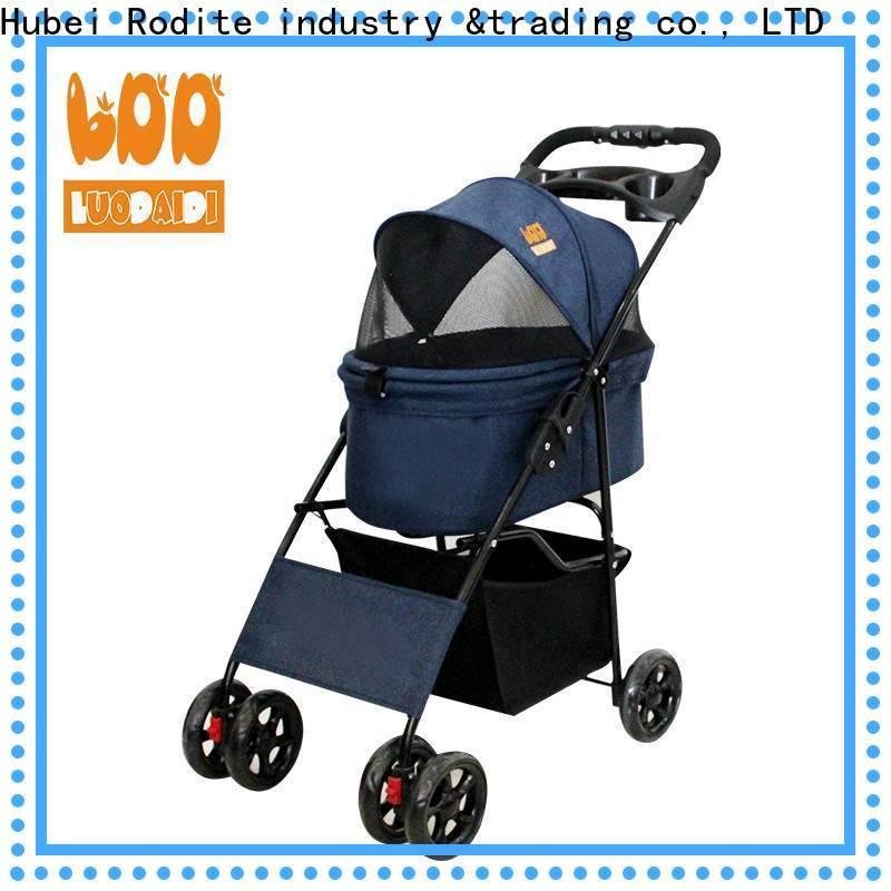 Rodite detachaable pet stroller medium dog wholesale for shopping