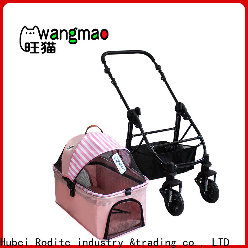 stainless wholesale pet strollers low price for large dogs