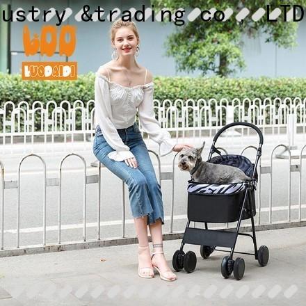 lightweight 3 wheel pet stroller wholesale for travel