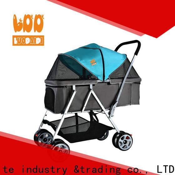 Rodite folding best dog stroller for jogging supplier for large dogs