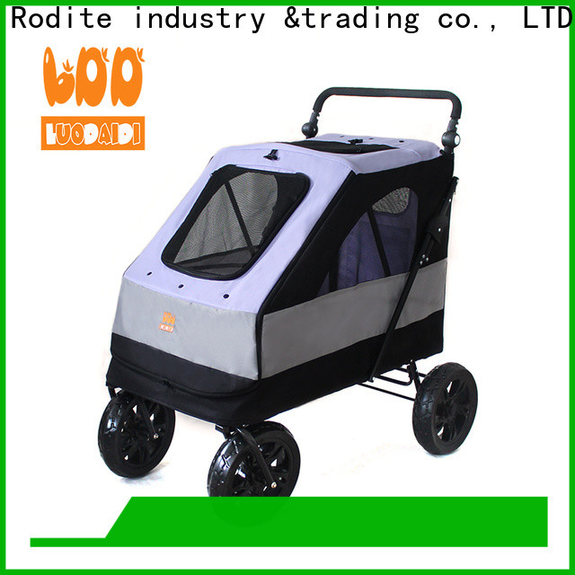 Rodite detachaable dog stroller for small dogs low price for large dogs