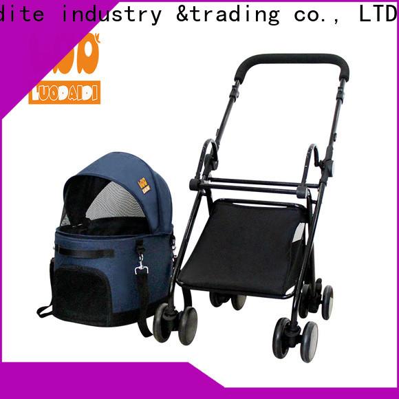 Rodite foldable dogger pet stroller supplier for travel