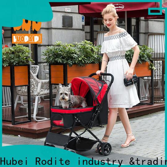 lightweight pet stroller trailer manufacturer for travel
