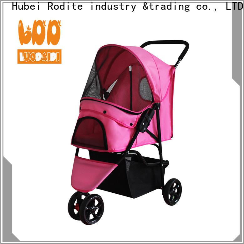 Rodite best pet pram stroller supplier for small dogs