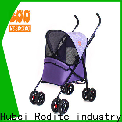 folding heavy duty dog stroller supplier for large dogs