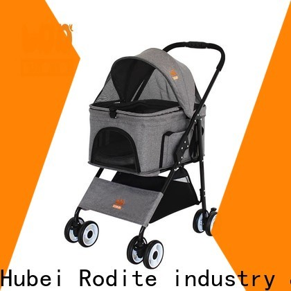 beautiful luxury dog strollers manufacturer for shopping