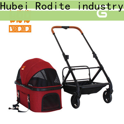 Rodite heavy duty dog pet stroller low price for shopping