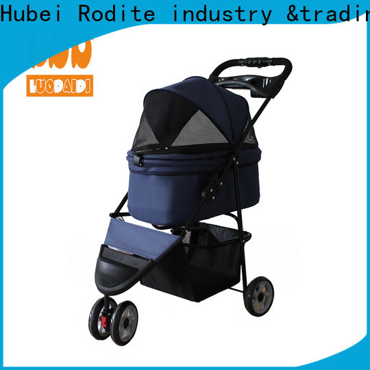 customized double pet stroller wholesale for large dogs