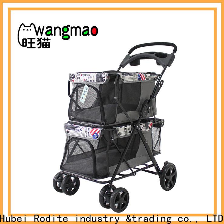 Rodite folding paws & pals 3 wheeler elite jogger pet stroller company for pets