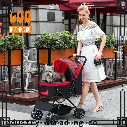 foldable paws and pals pet stroller supply for pets