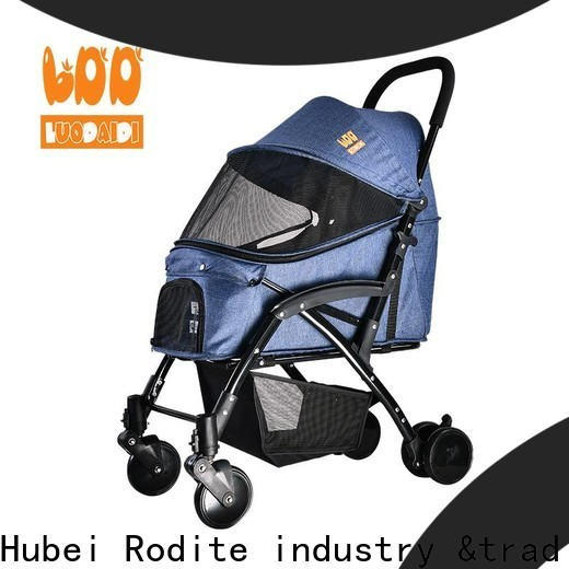 Rodite dog stroller for 2 dogs supply for large dogs