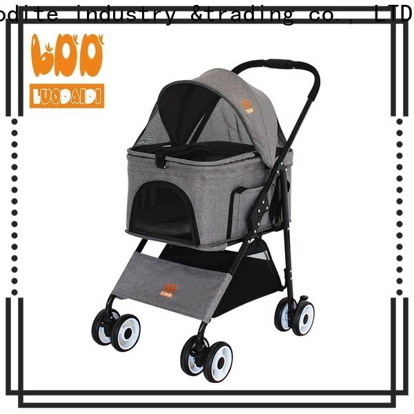 Rodite detachaable pet buggy low price for shopping