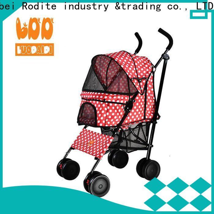 Rodite latest pet pram stroller for business for medium dogs