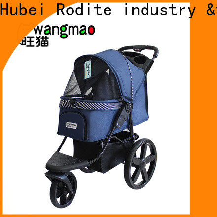 heavy duty pet stroller pink suppliers for shopping