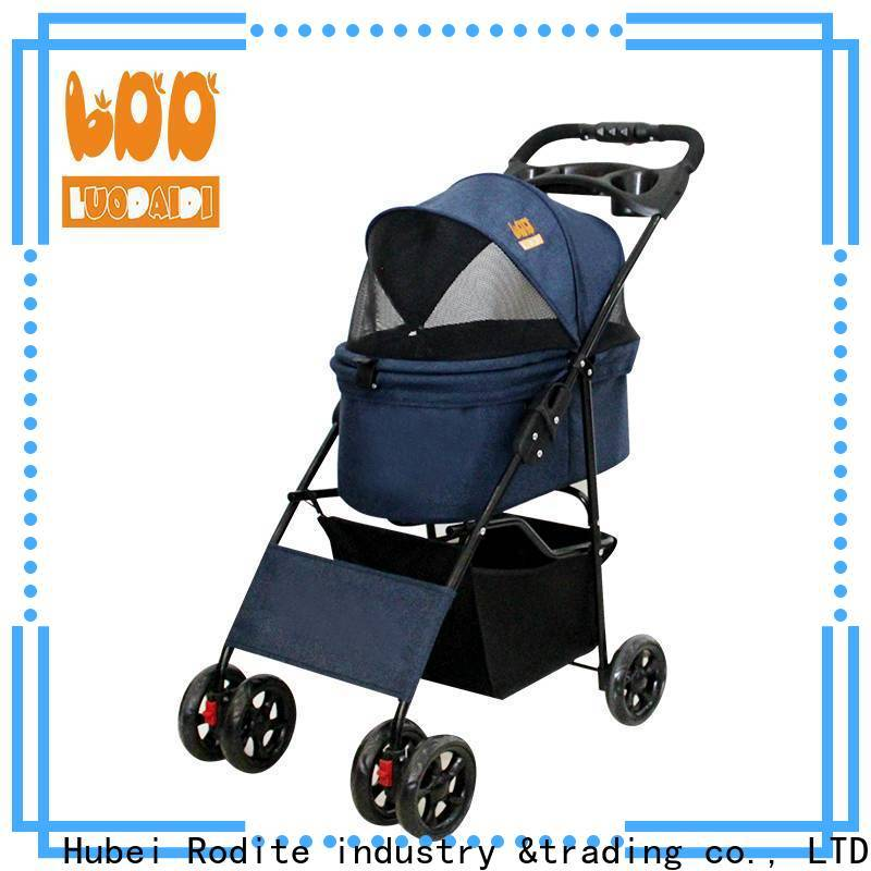 Rodite detachaable best cat stroller 2020 company for cats