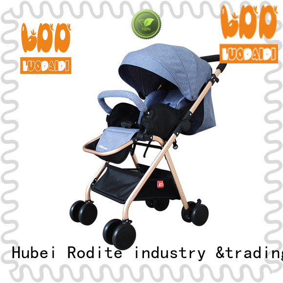 Rodite foldable twin baby strollers manufacturer for travel