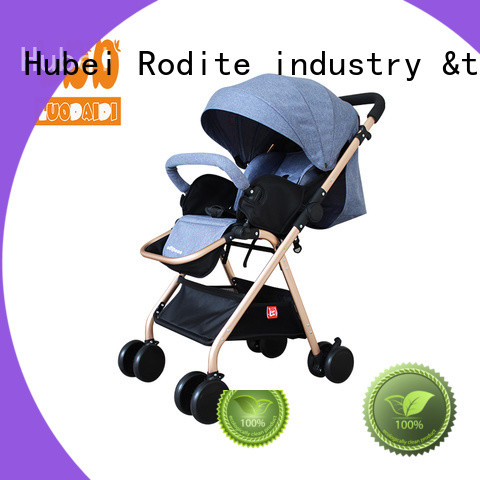 detachaable double baby stroller supplier for toddler