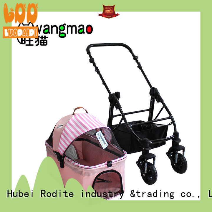 Rodite luxury pet stroller carrier wholesale for medium dogs