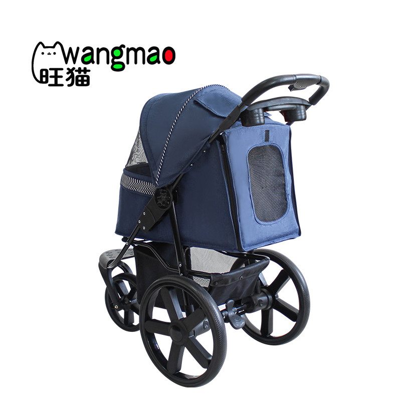 product-Luxury pet stroller with big wheels for dogs outdoor travel-Rodite-img-1