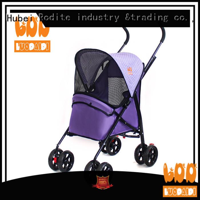 Rodite heavy duty dog stroller for large dogs manufacturer for travel
