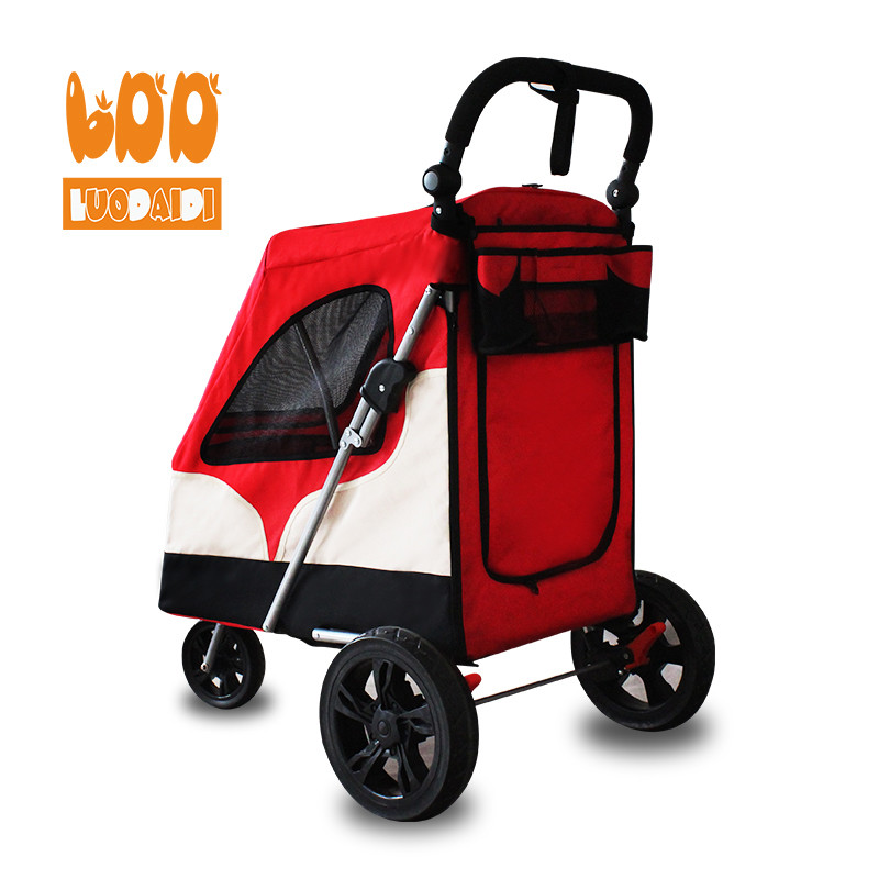 product-3 in 1 big dog stroller wholesale dog trolley-Rodite-img-1