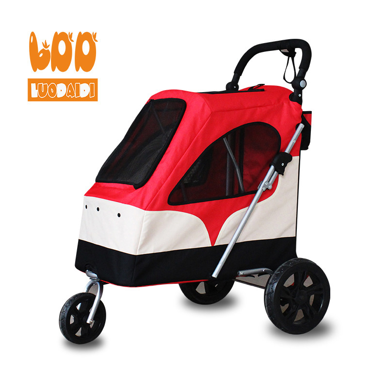 3 in 1 big dog stroller wholesale dog trolley