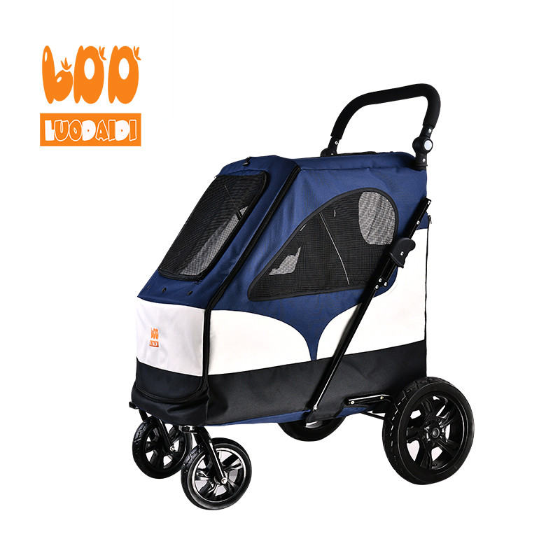 4 wheels dog stroller hot selling pet trolley-Rodite