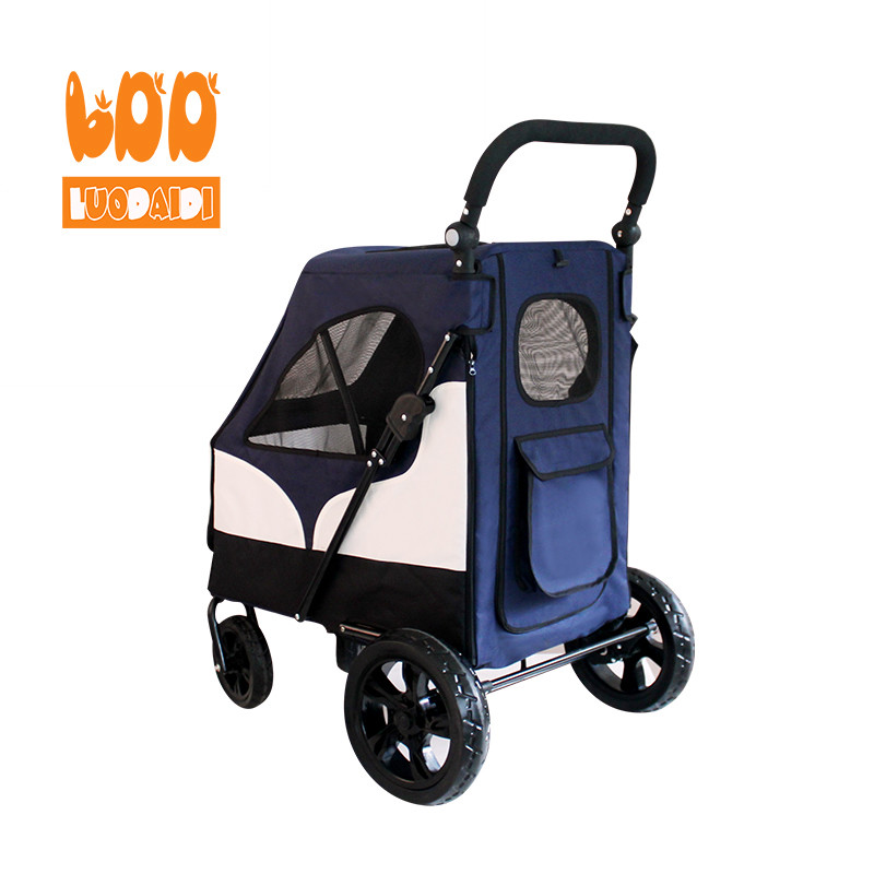 product-Rodite-4 wheels dog stroller hot selling pet trolley-img