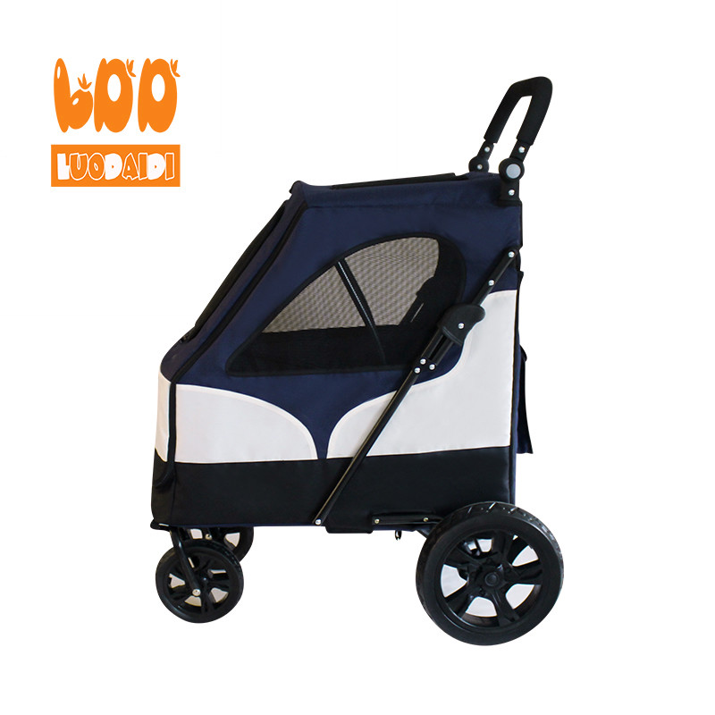 4 wheels dog stroller hot selling pet trolley-foldable baby stroller,pet gear stroller,stroller manufacturer-Rodite