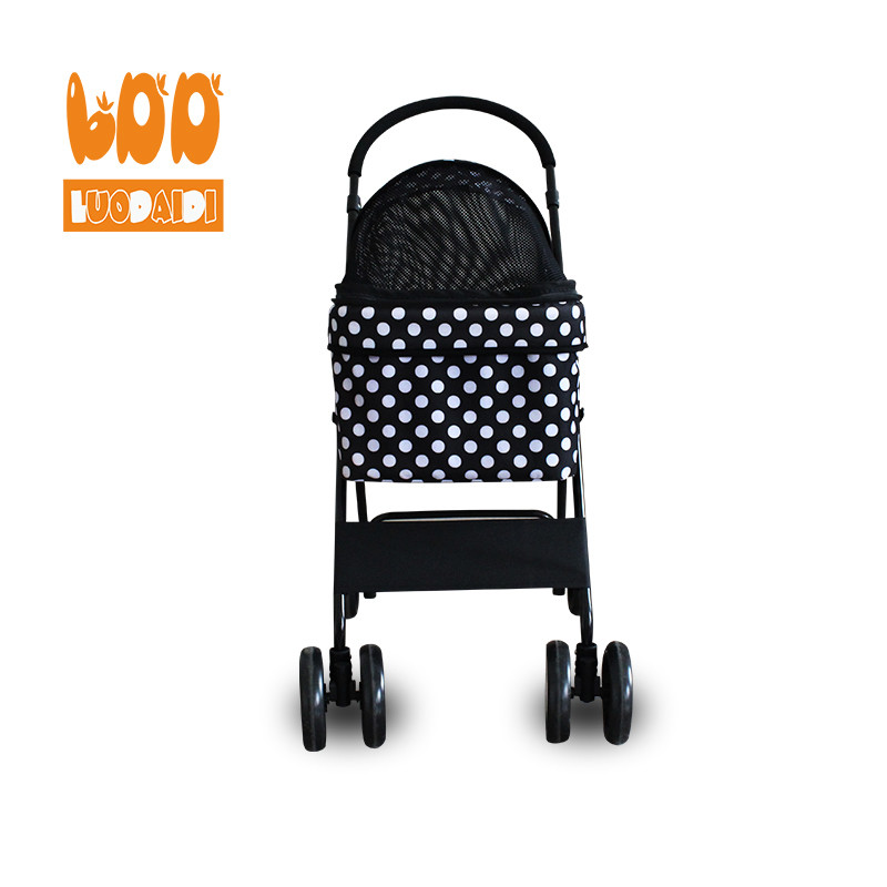 Pet stroller for small dogs cheap pet trolley parts-Rodite