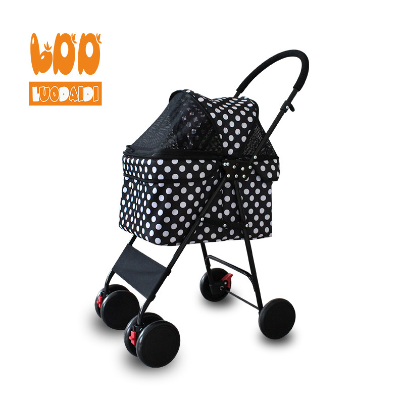 product-Pet stroller for small dogs cheap pet trolley parts-Rodite-img-1