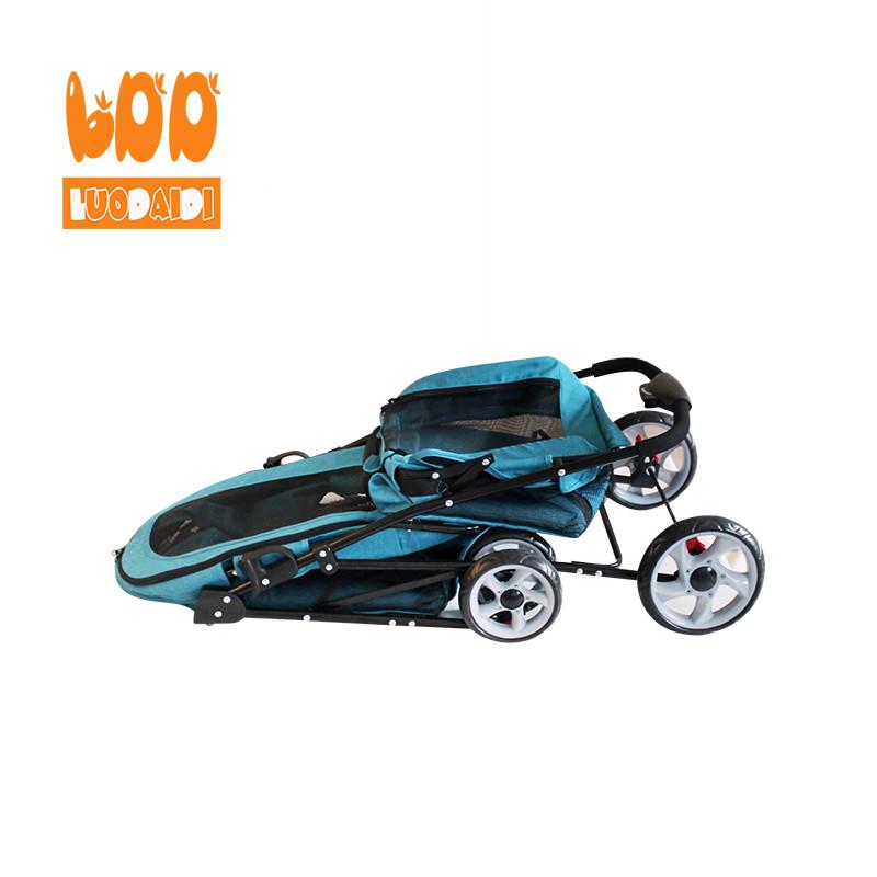 Foldable dog carriage double deck pet stroller BL11-Rodite