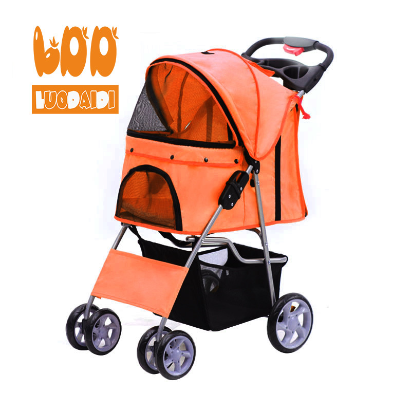 4 wheel pet stroller for medium dog SP02-foldable baby stroller,pet gear stroller,stroller manufacturer-Rodite