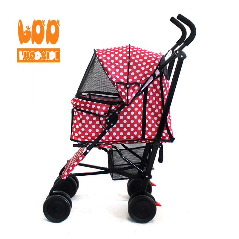 Cheap dog strollers both front and rear entry SP07-Rodite