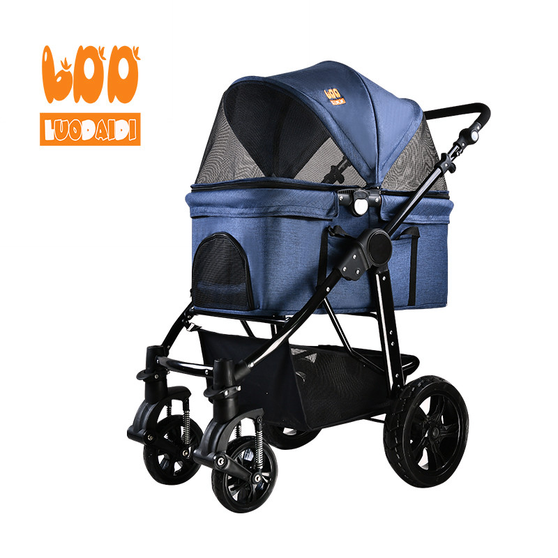 Luxury pet stroller pet carrier for dogs SP09-foldable baby stroller,pet gear stroller,stroller manufacturer-Rodite