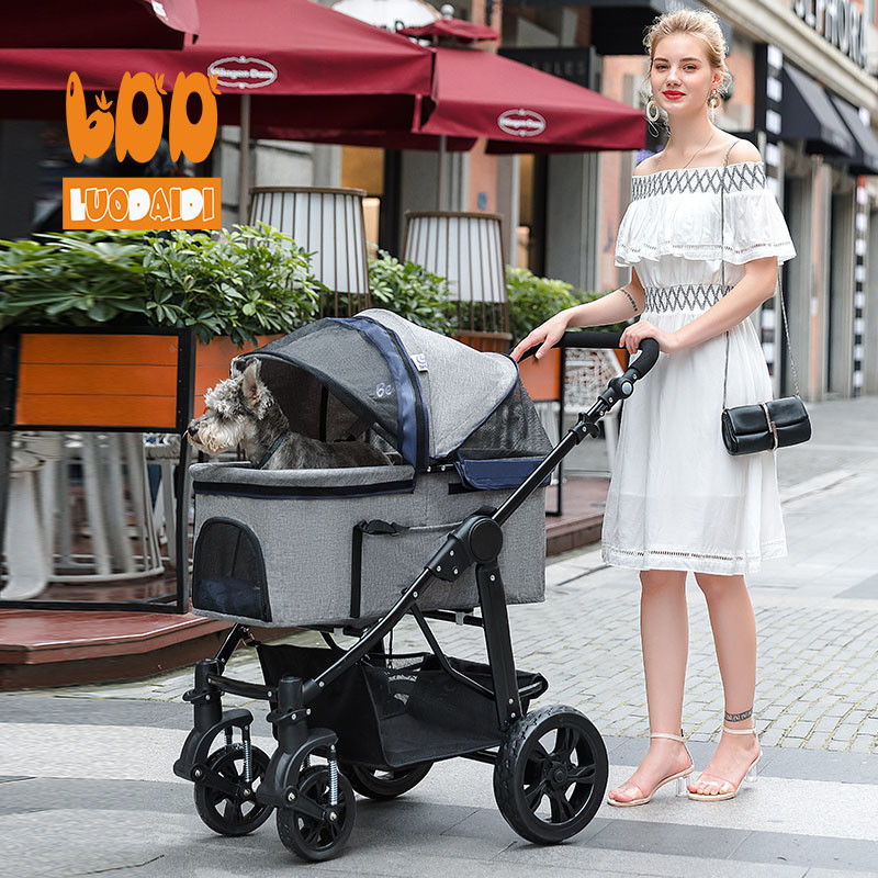 Luxury pet stroller pet carrier for dogs SP09